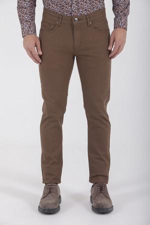 HTML - Kahverengi Slim Fit Spor Pantolon