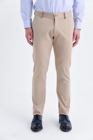 HTML - Bej Slim Fit Spor Pantolon