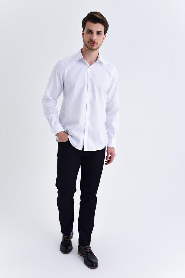 Hatemoğlu - Slim Fit Beyaz Gömlek (1)