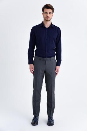 Hatemoğlu - Gri Slim Fit Kumaş Pantolon (1)