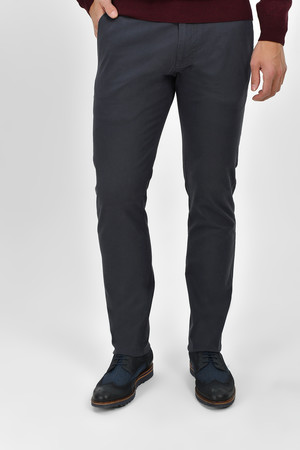 HTML - Slim Fit Gri Pantolon