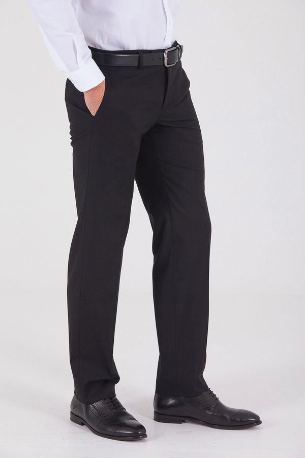 Slim Fit Klasik Siyah Pantolon