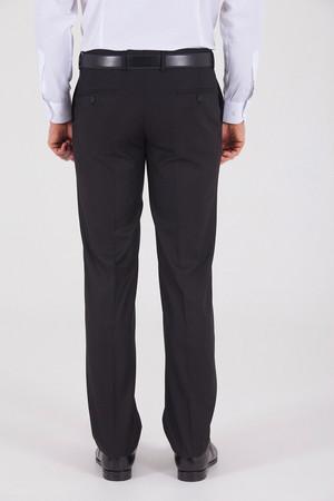 Slim Fit Klasik Siyah Pantolon - Thumbnail