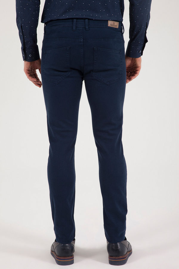 Lacivert Slim Fit Spor Pantolon