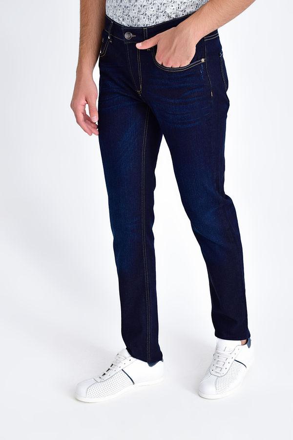 Lacivert Slim Fit Kot Pantolon