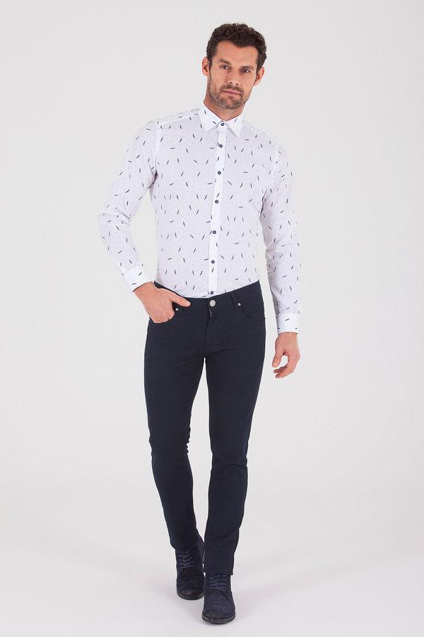Hatem Saykı - Lacivert Slim Fit Spor Pantolon (1)