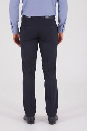 Slim Fit Lacivert Pantolon - Thumbnail