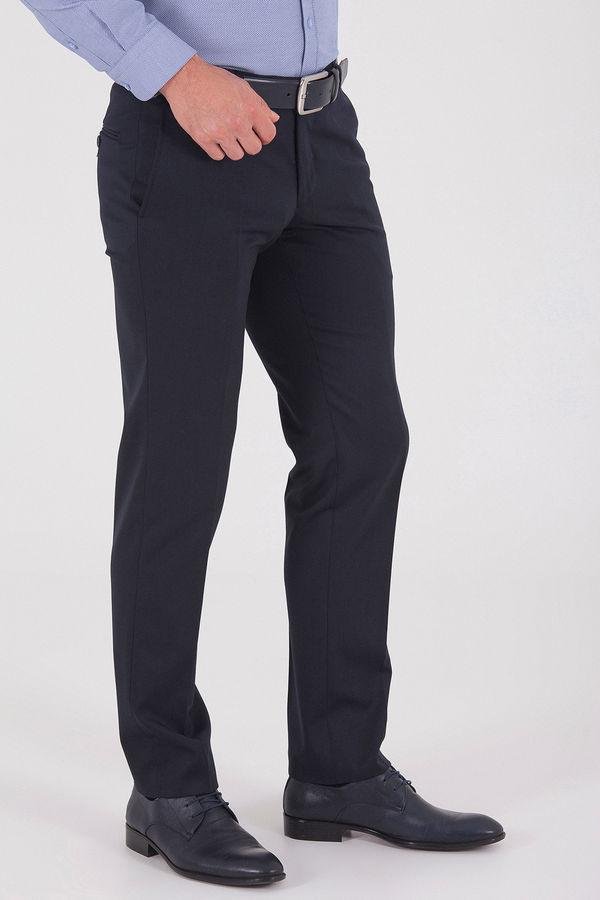 Lacivert Slim Fit Kumaş Pantolon