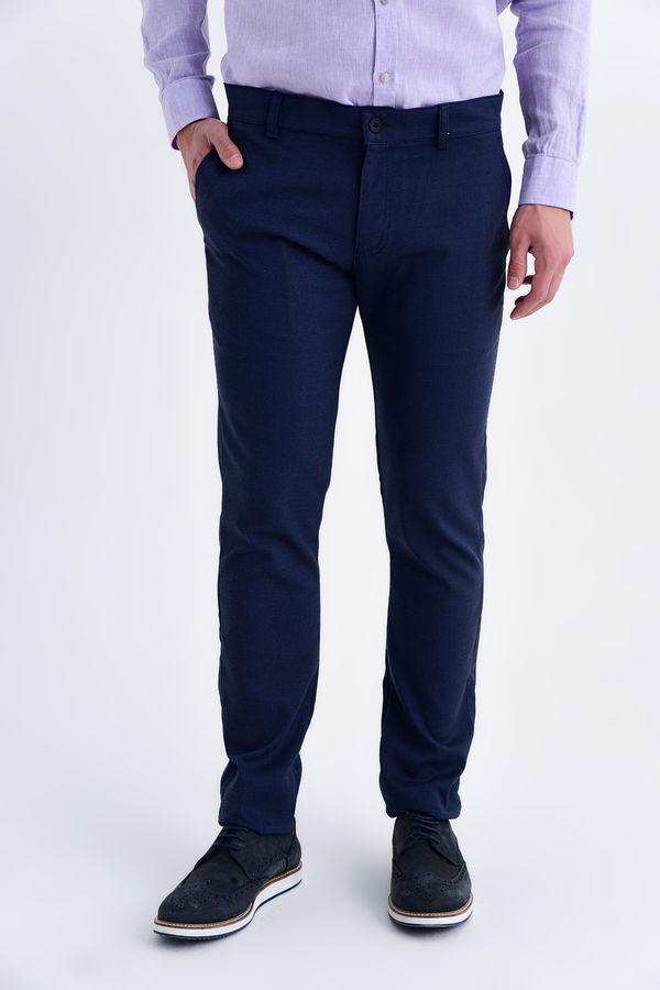 HTML - Açık Lacivert Slim Fit Spor Pantolon