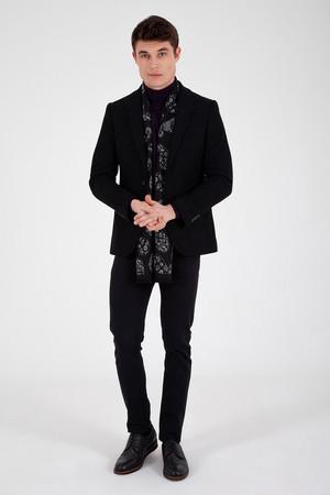 Hatem Saykı - Siyah Slim Fit Ceket (1)