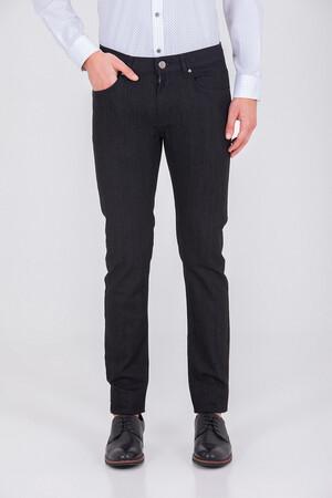Slim Fit Siyah Pantolon - Thumbnail