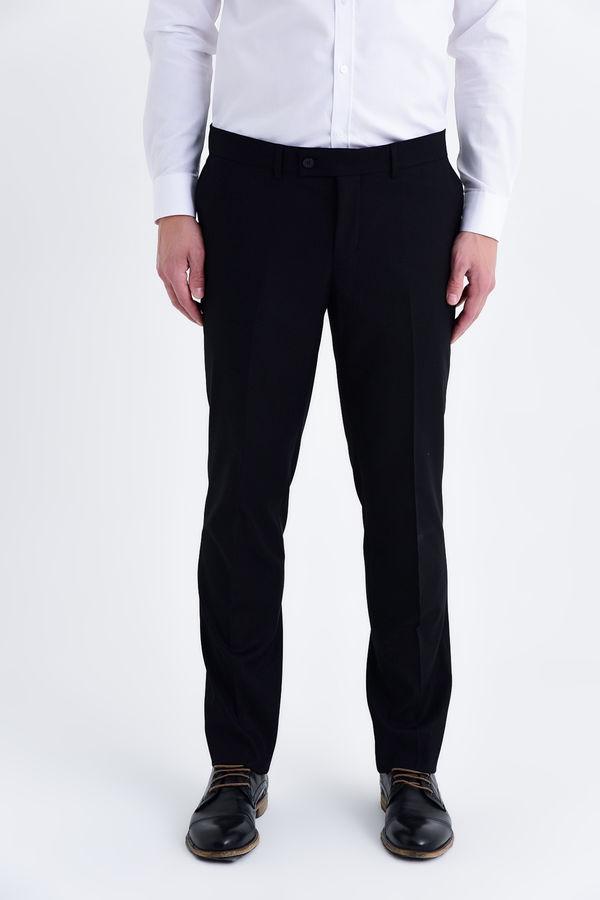 Hatemoğlu - Slim Fit Siyah Pantolon