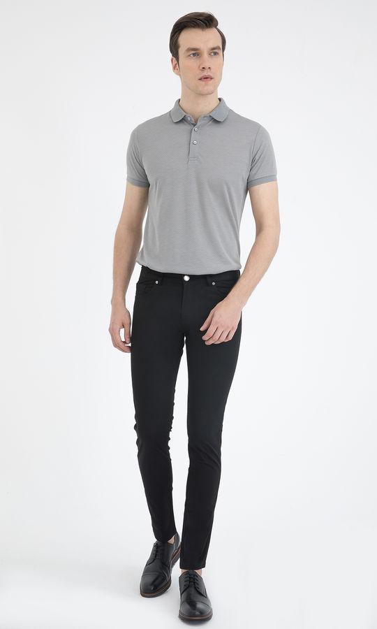 HTML - Slim Fit Siyah Pantolon (1)