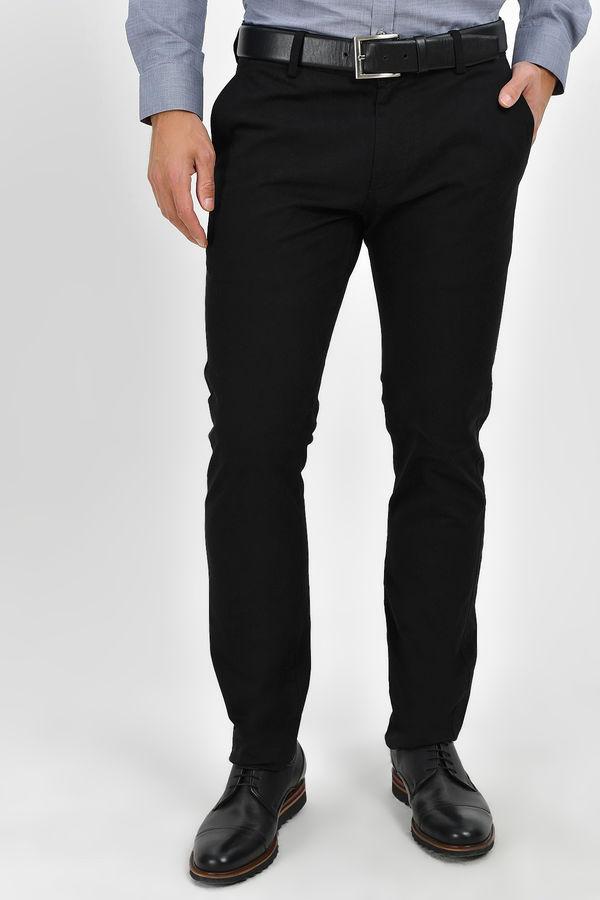 HTML - Slim Fit Siyah Pantolon