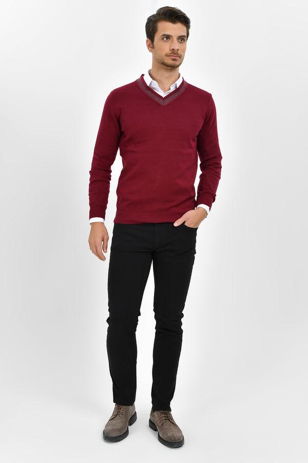 HTML - Siyah Slim Fit Spor Pantolon (1)