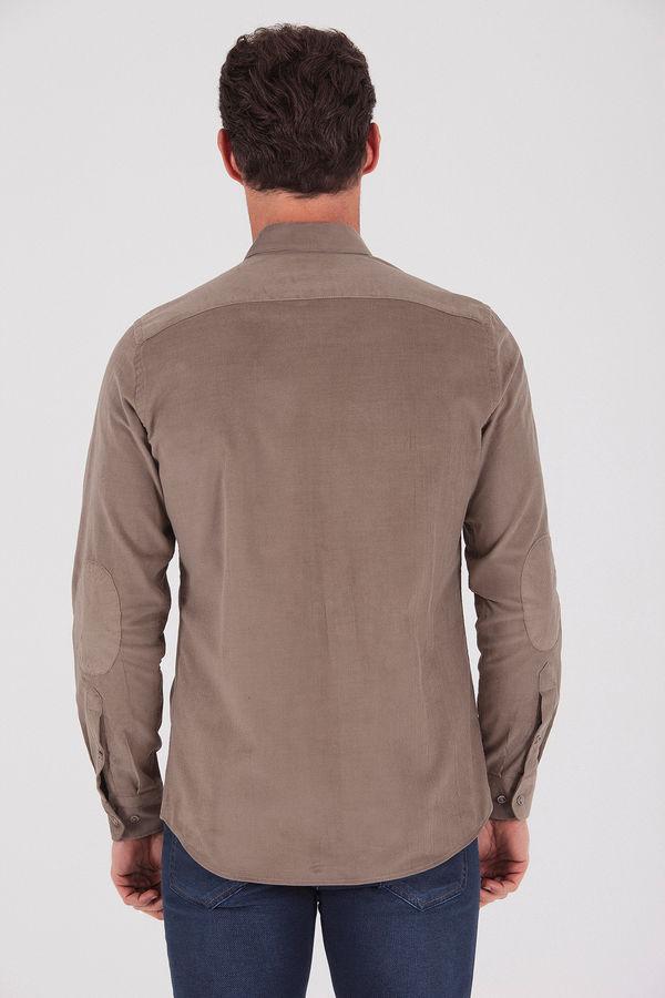 Slim Fit Vizon Gömlek