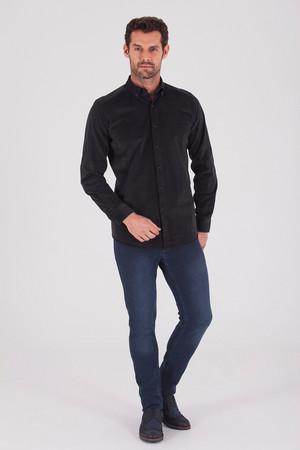 Hatem Saykı - Slim Fit Siyah Gömlek (1)