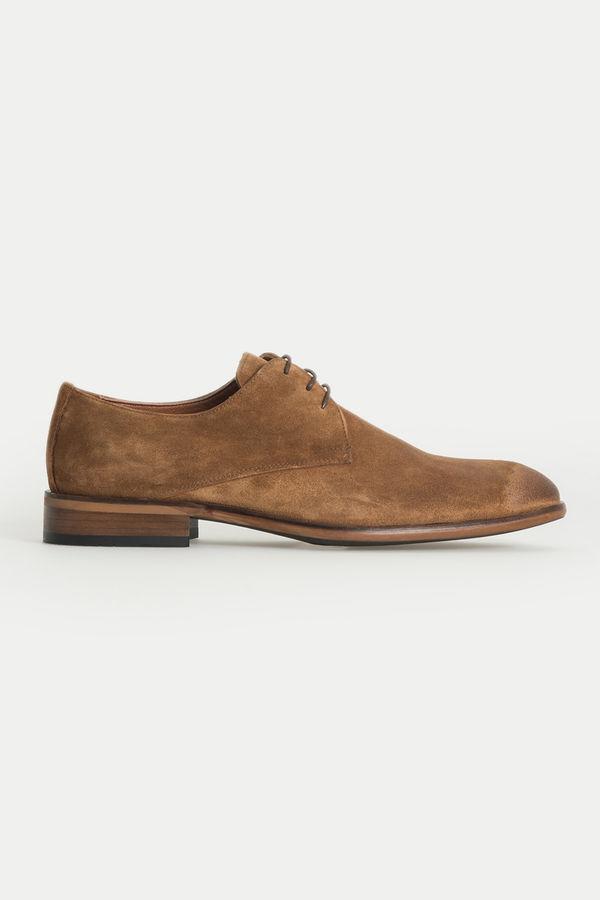 Hatem Saykı - Taba Klasik Süet Ayakkabı