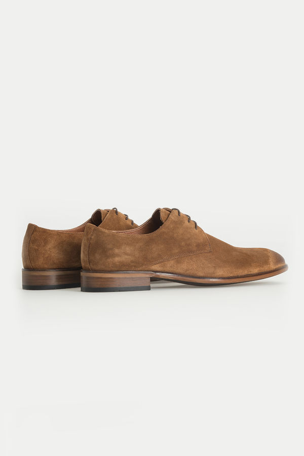 Hatem Saykı - Taba Klasik Süet Ayakkabı (1)