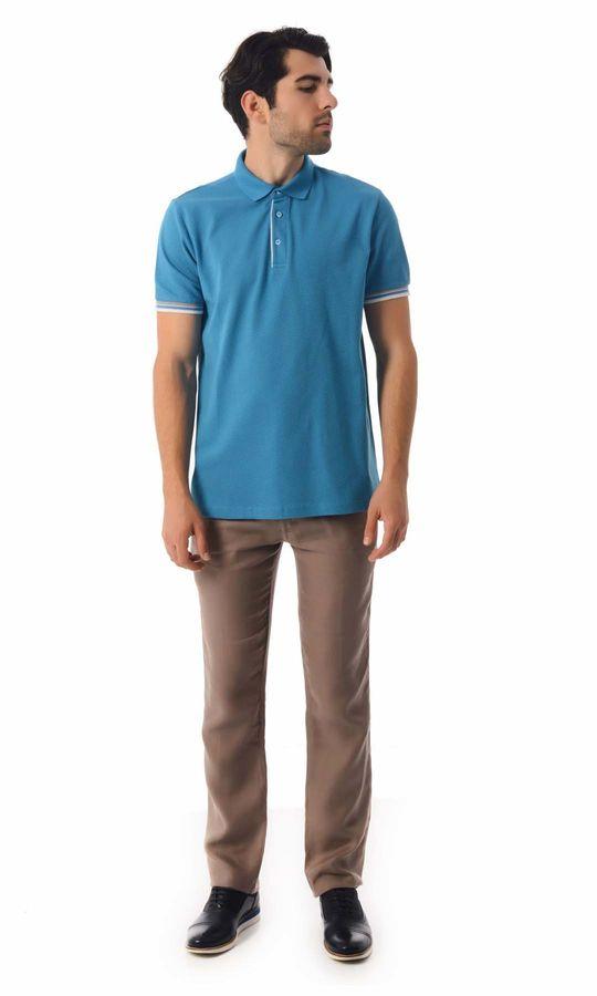 HATEMOĞLU - Turkuaz - Desenli Regular T-shirt (1)