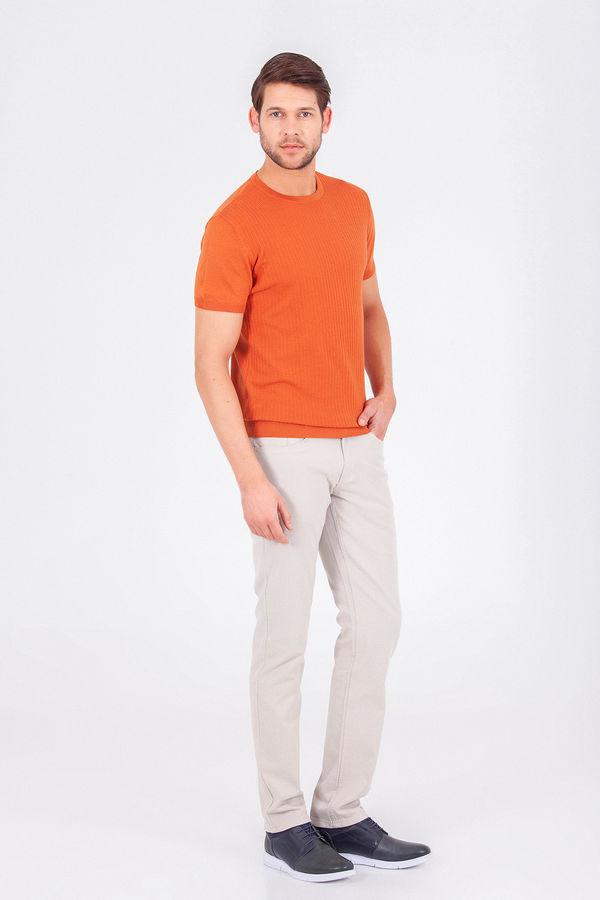 Hatem Saykı - Turuncu Regular T-shirt (1)