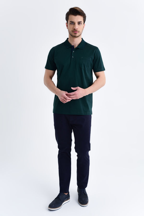 HATEMOĞLU - Yesil - Regular T-shirt (1)