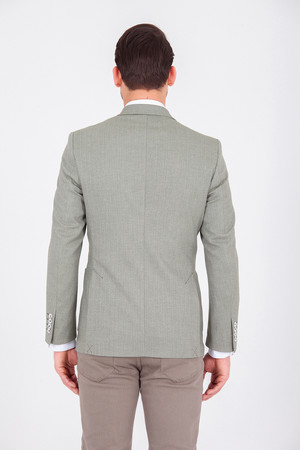 Yeşil Slim Fit Klasik Ceket - Thumbnail
