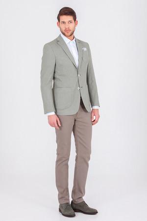 Hatemoğlu - Yeşil Slim Fit Klasik Ceket (1)