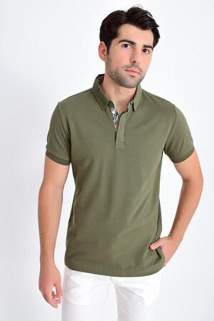 HTML - Yeşil Polo Yaka Tişört