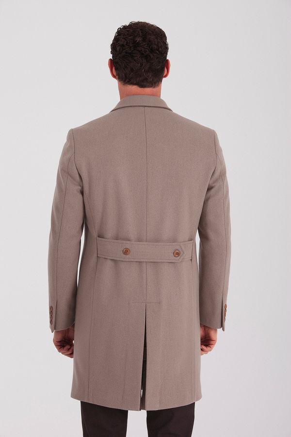 Yünlü Vizon Palto